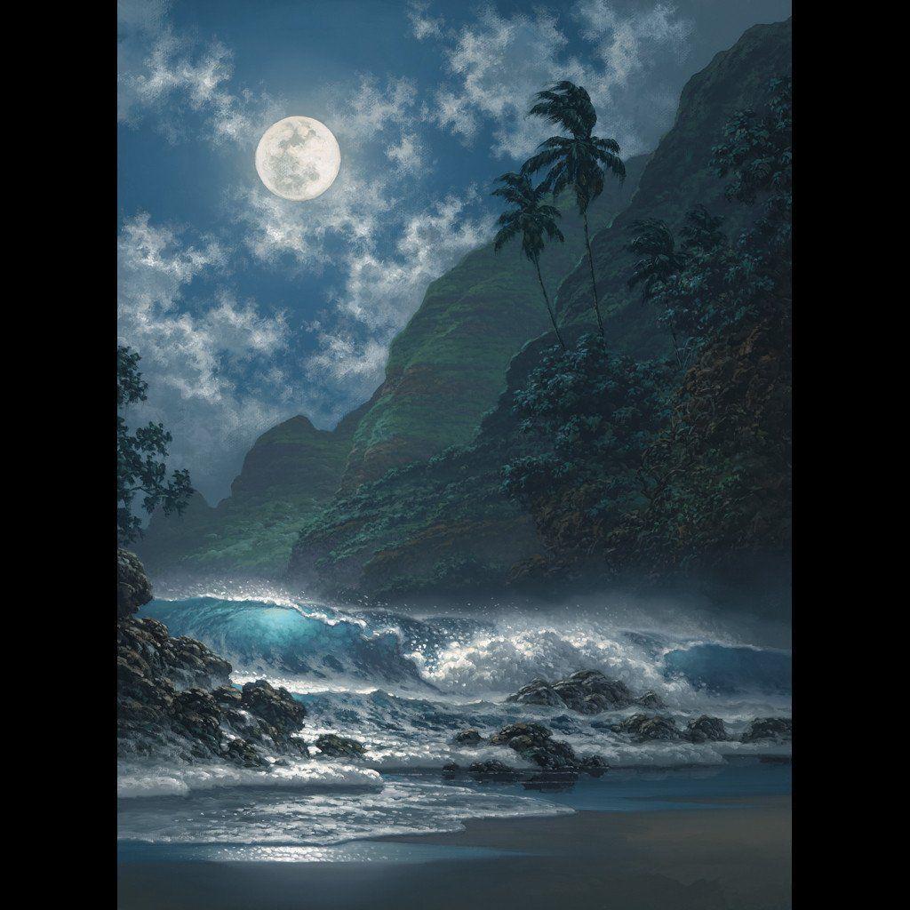 Softly Glows the Night Beautiful photography nature