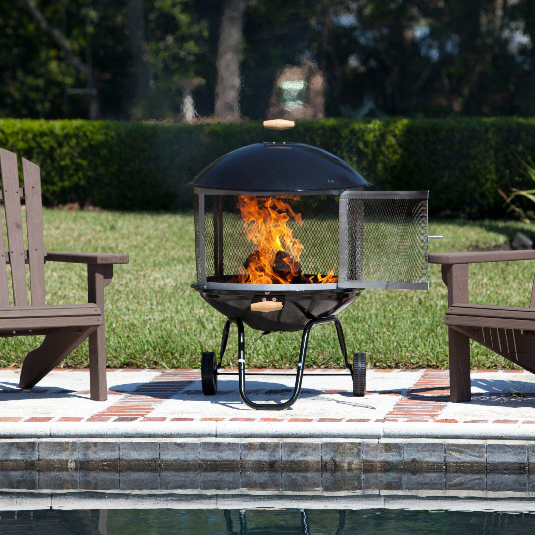 fire sense bon fire portable fire pit 01471 portable fire pits