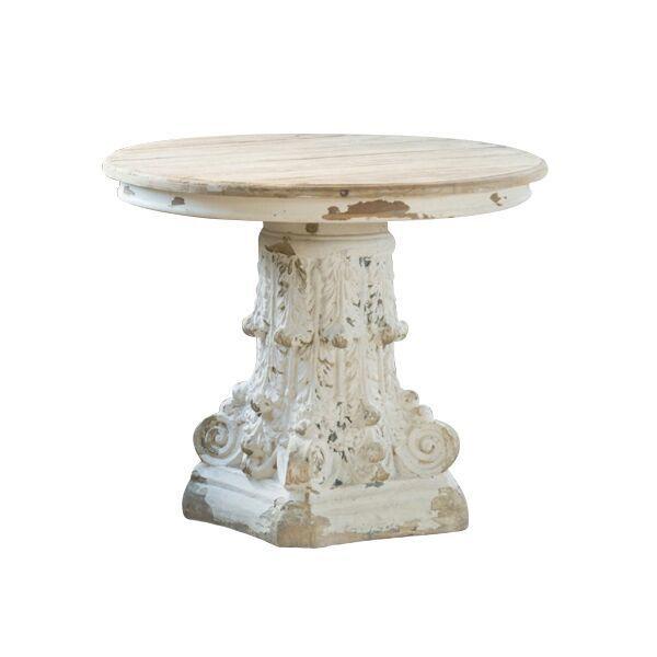 Corinthians Table Corinthian Column Pedestal Base Table With