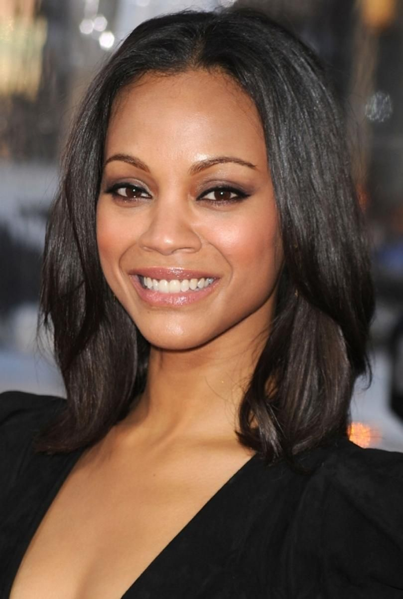 Black Layered Hairstyles for Medium Length Hair (With images