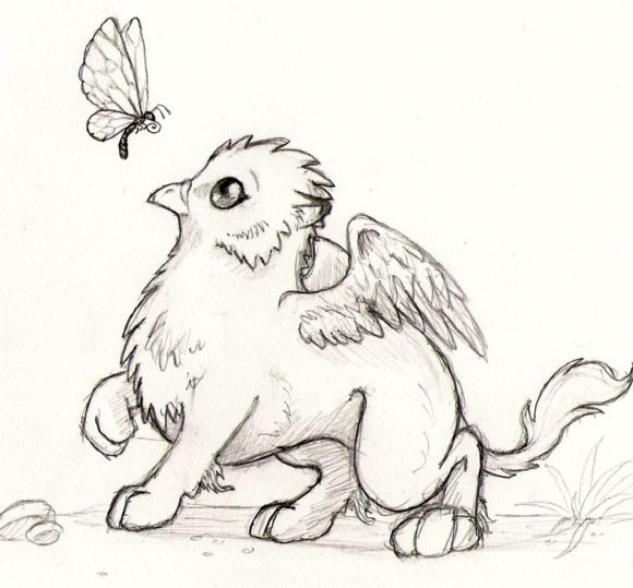 baby griffin by rea spyrre