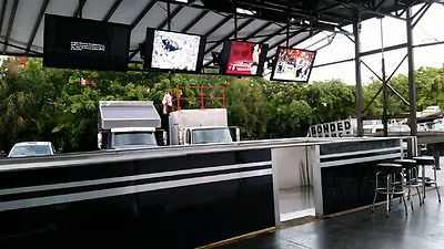 Mobile sports bar and grill kitchen trailer outdoor wedding vip lounge vendor pinterest - Outdoor mobel lounge ...
