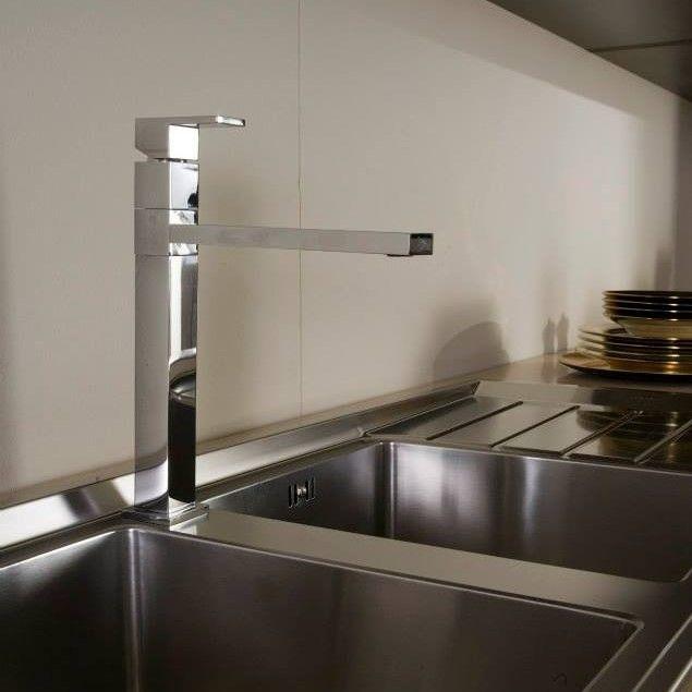 Treemme Küchenarmatur Serie Q chrom Küchenarmaturen - k chenarmaturen villeroy und boch