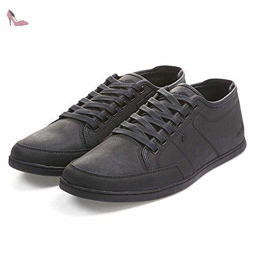 Black Chaussures 44 Leather Sparko Schuhe Bsc Boxfresh v8OmnN0w