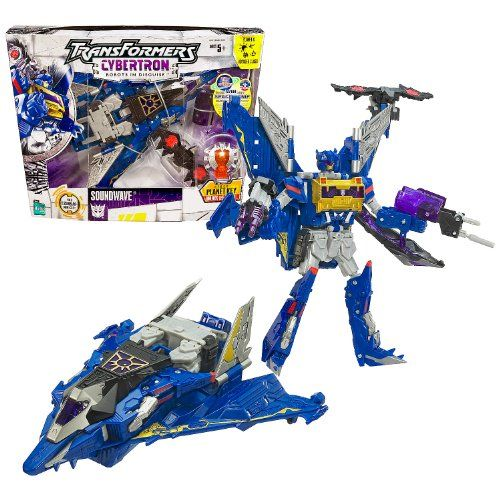 Hasbro Year 2005 Transformers Cybertron Series Voyager Class 8 Inch Tall Robot Action Figure Dec Transformers Cybertron Transformers Toys Robot Action Figures