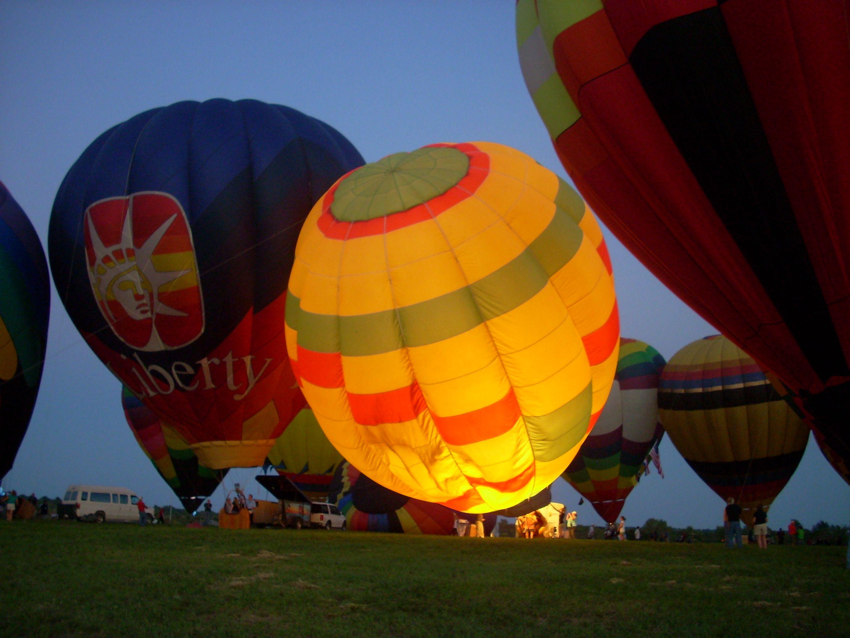 Great hot air balloon fest in Kansas Air balloon