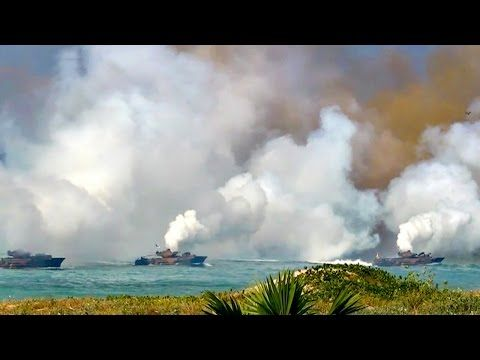How an Invasion of Thailand Would Look Like – Massive Amphibious Landing on Thai Beachfront - YouTube