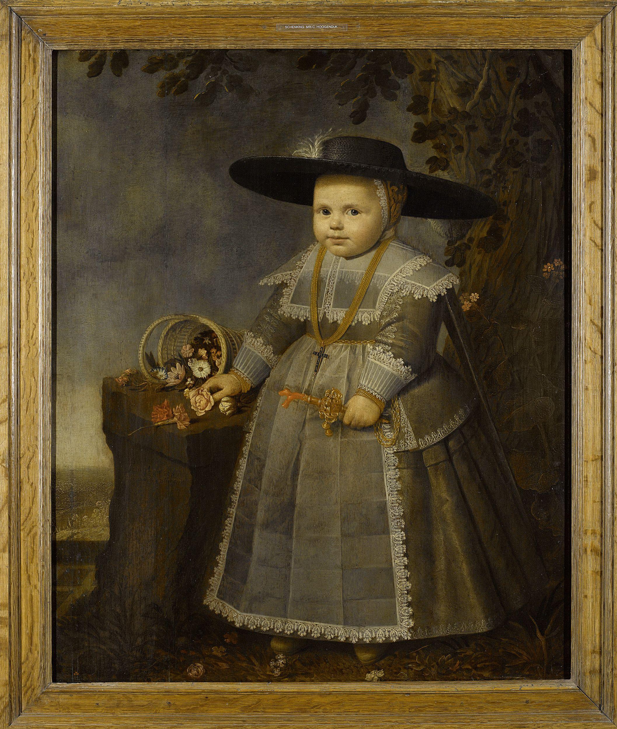 Willem van der Vliet, Portrait of a Child