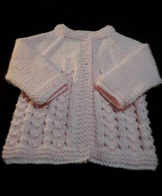 5ac4465e215c SOPHIE Baby Cardigan Jacket SOPHIE Baby Cardigan Jacket - knitted by Jennie  Walls Jennie Walls – a member of my facebook group - adapted one of my baby  ...