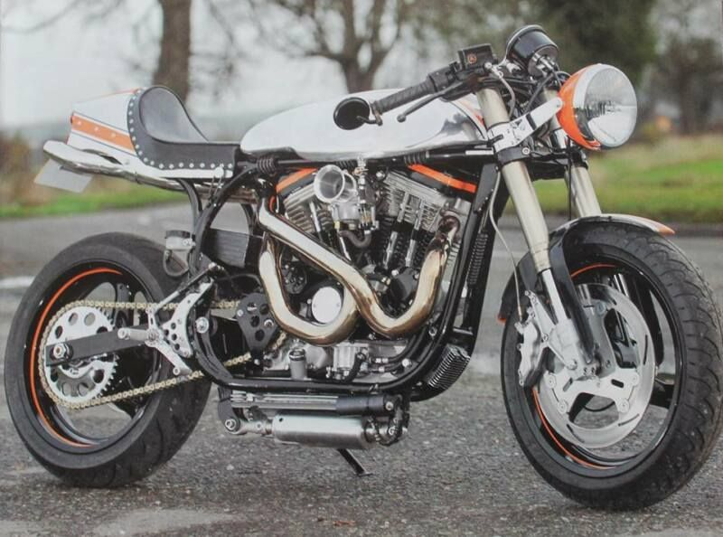 Harley Davidson Buell Norton Show Winning 3in1cafe Racer Special
