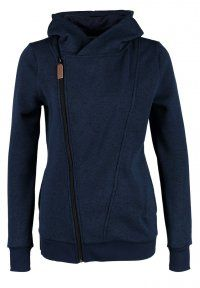 TWINTIP - Fleece jack - blue melange