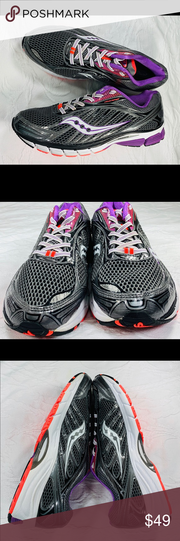 saucony ride 6 purpura