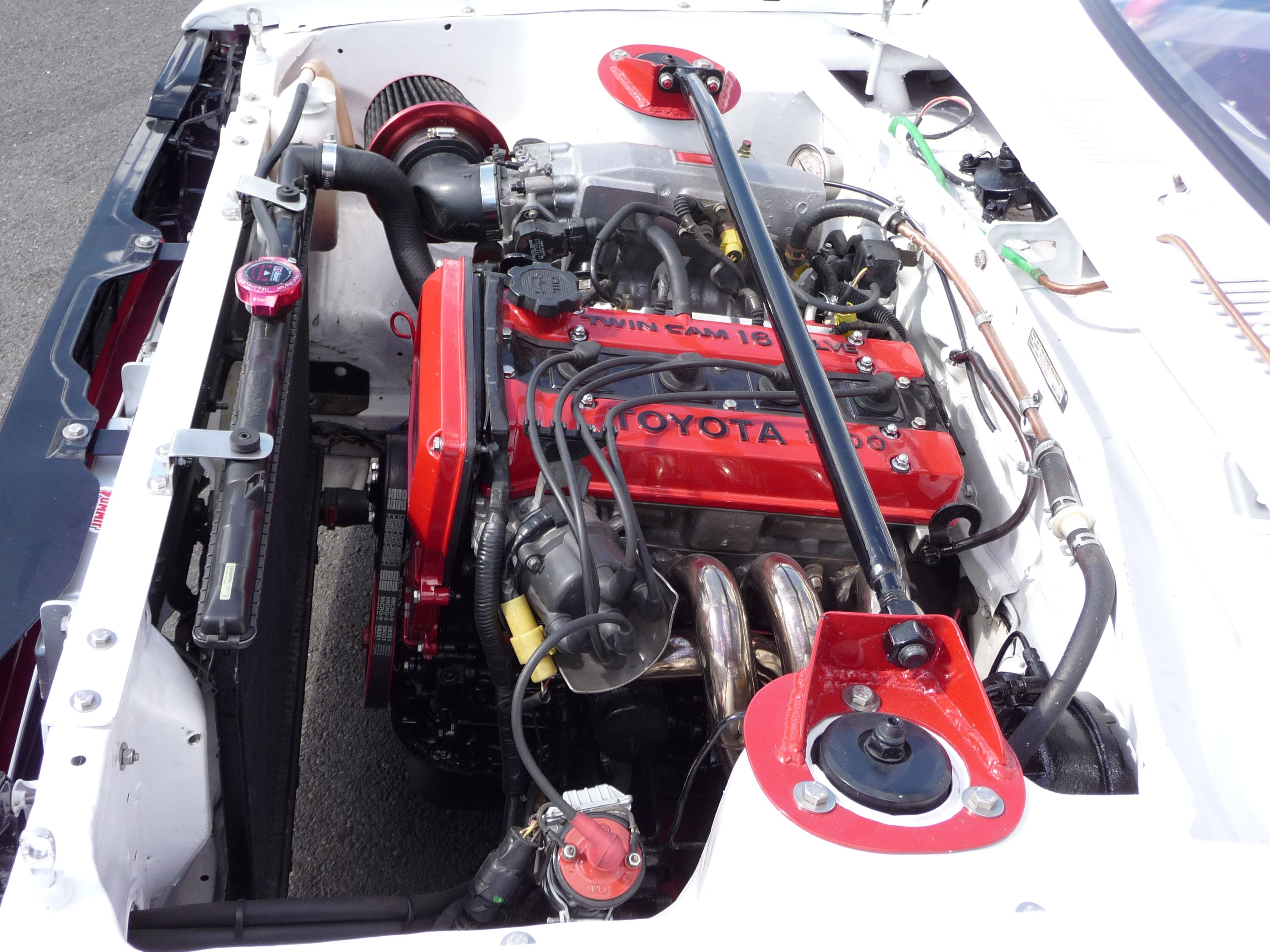kp61 starlet 4age 16v | Favorite Engines | Toyota starlet, Cars