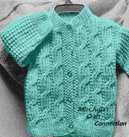 Miss Julias Vintage Knit Crochet Patterns Free Patterns 22