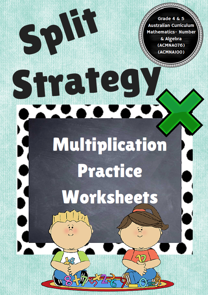 Multiplication strategy worksheets Perfect for assessment and – Multiplication Assessment Worksheet