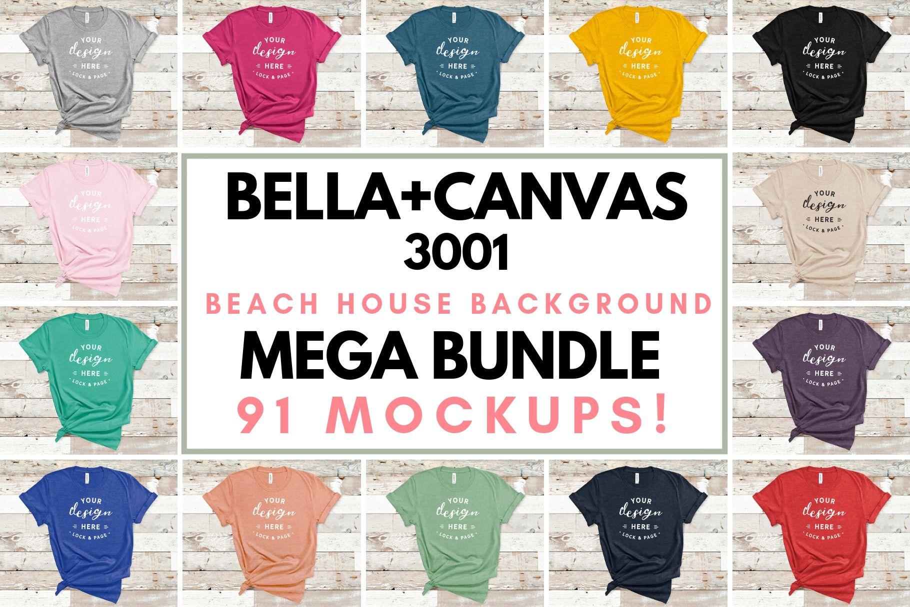 Download Bella Canvas 3001 Mockup T Shirt Bundle All Colors On Wood 150632 Mockups Design Bundles Design Mockup Free Tshirt Mockup Shirt Mockup