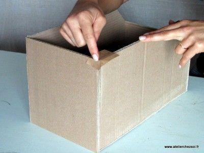 Technique Comment Krafter Vos Creations En Carton Carton Ondule Meubles En Carton Carton