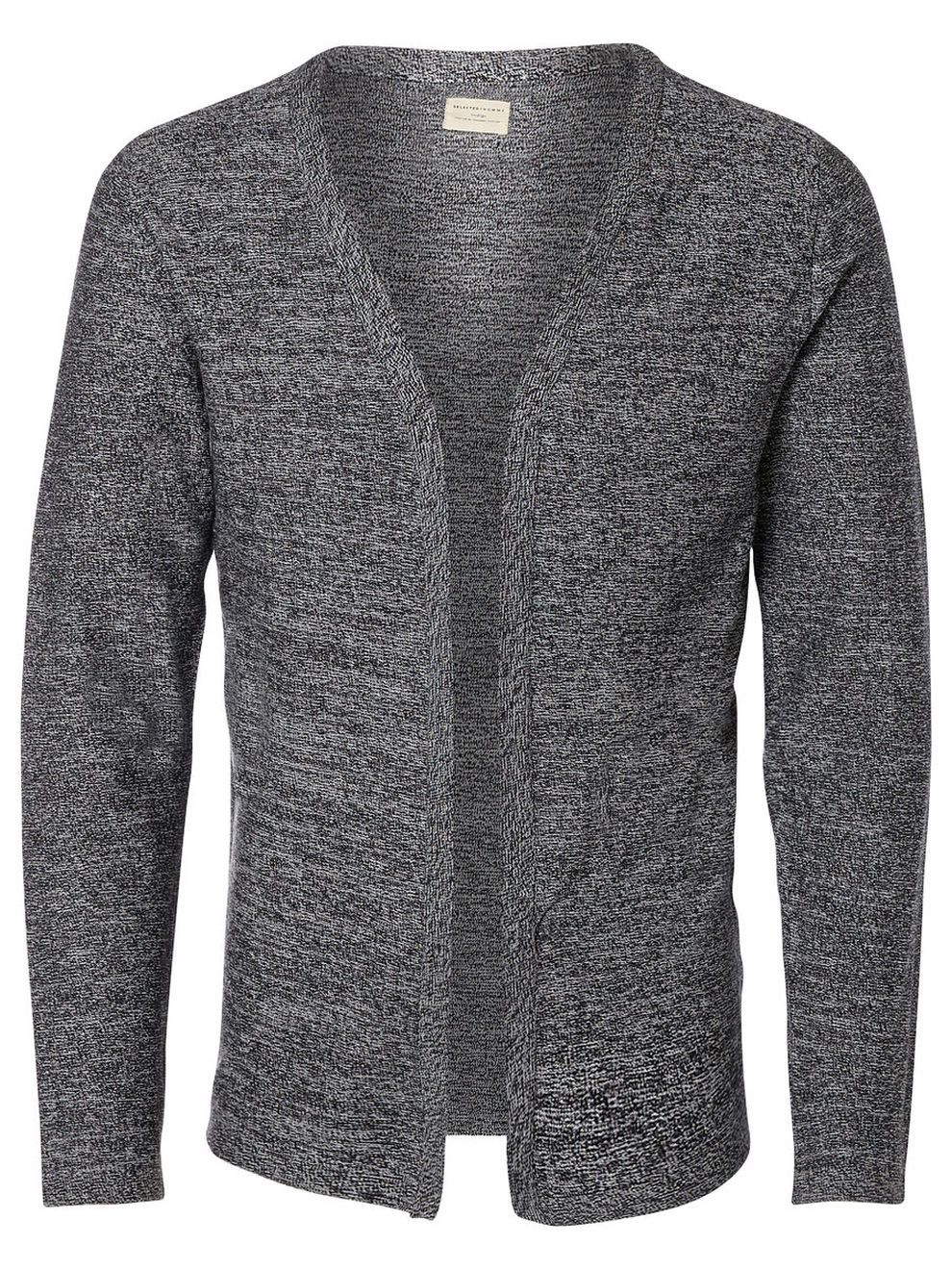 OPEN FRONT - KNITTED CARDIGAN