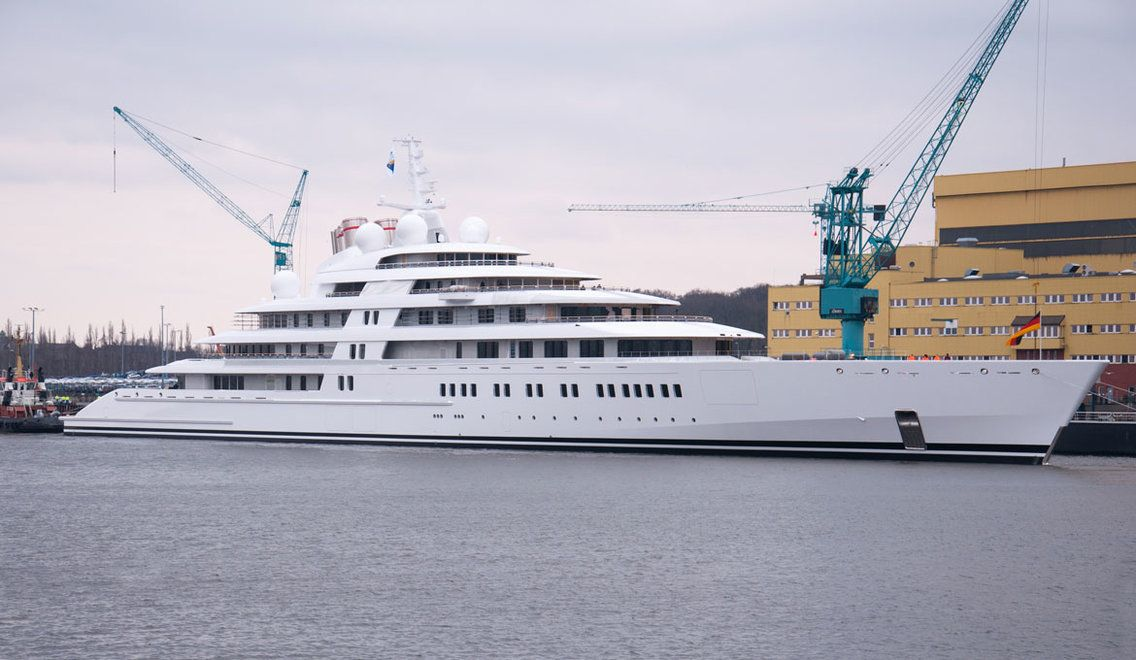 11 Of The Most Expensive Yachts In The World Photos With Images