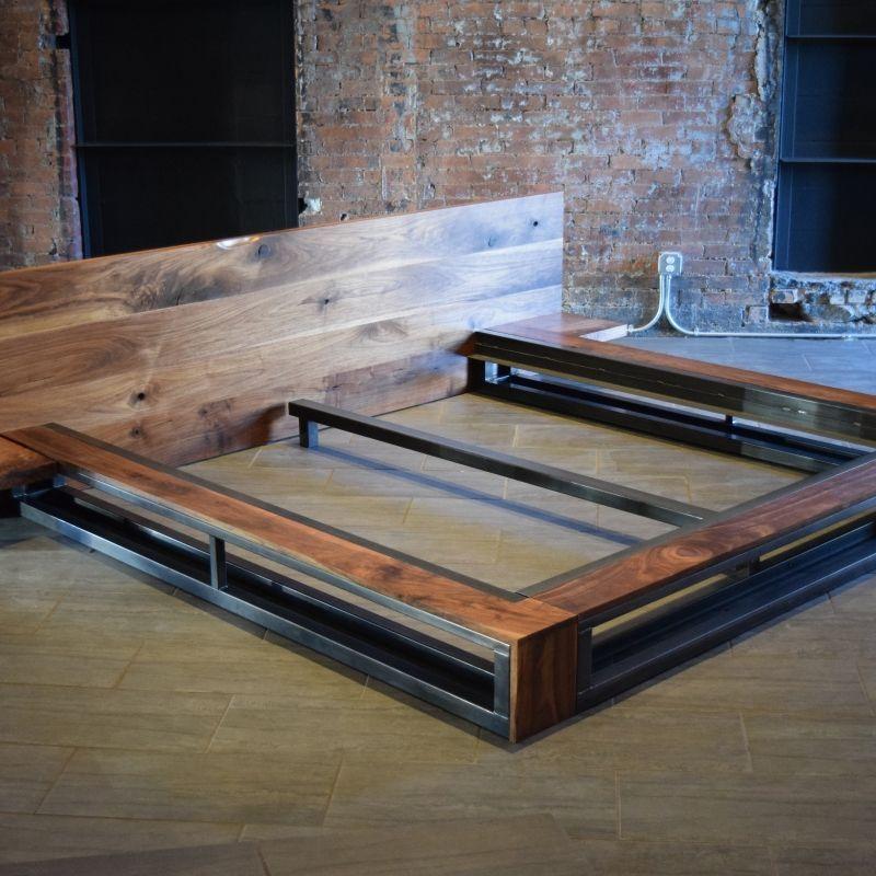20 Diy Industrial Bed Frame Design Ideas For Inspiration