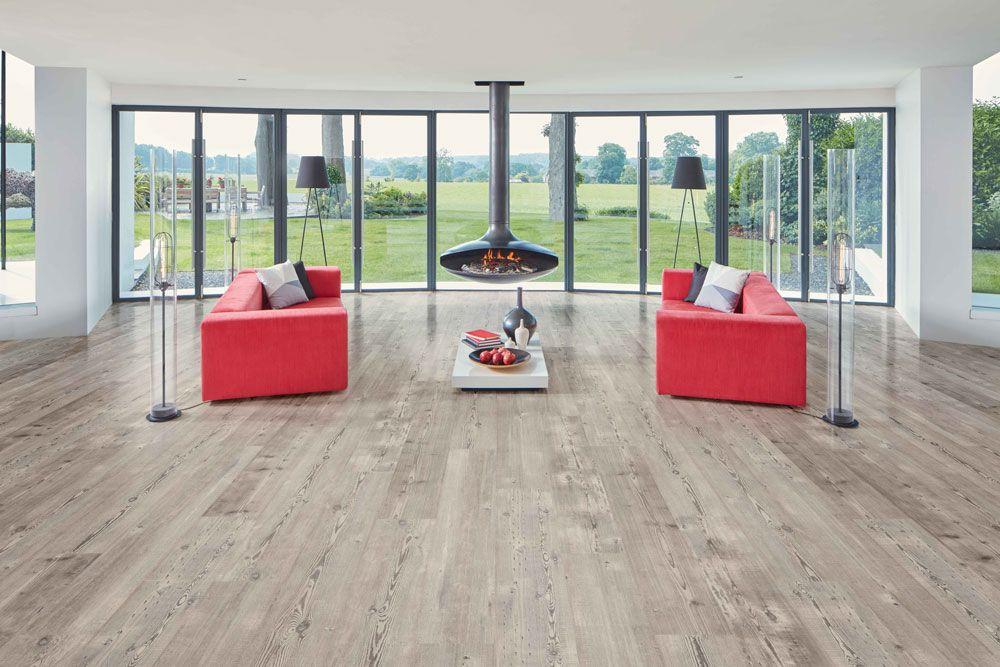 Weathered Heart Pine Flooring by Karndean at Gardiner Haskins ...