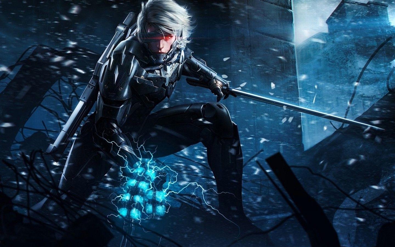 Video Games Raiden Metal Gear Solid Metal Gear Rising
