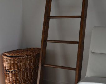 Houten Ladder Decoratie : Kleine multi purpose huis decoratieve houten ladder vintage