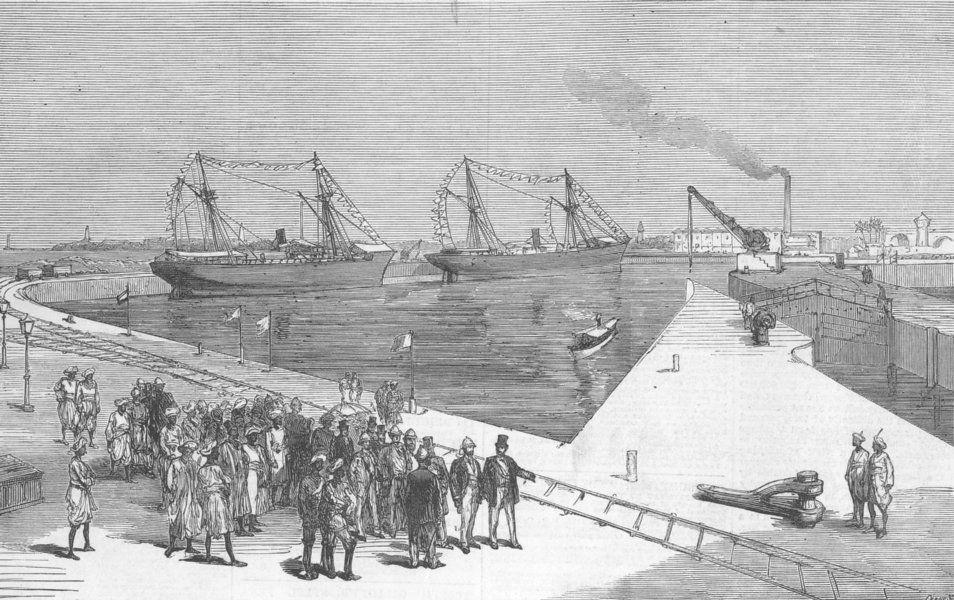 bombay docks 19th century - Google Search | History of india, Bombay,  History
