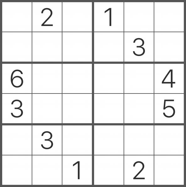 Merecer salida la seguridad  Sudoku 6x6 | Sudokus, Ejercicios de atención, Imprimir sobres
