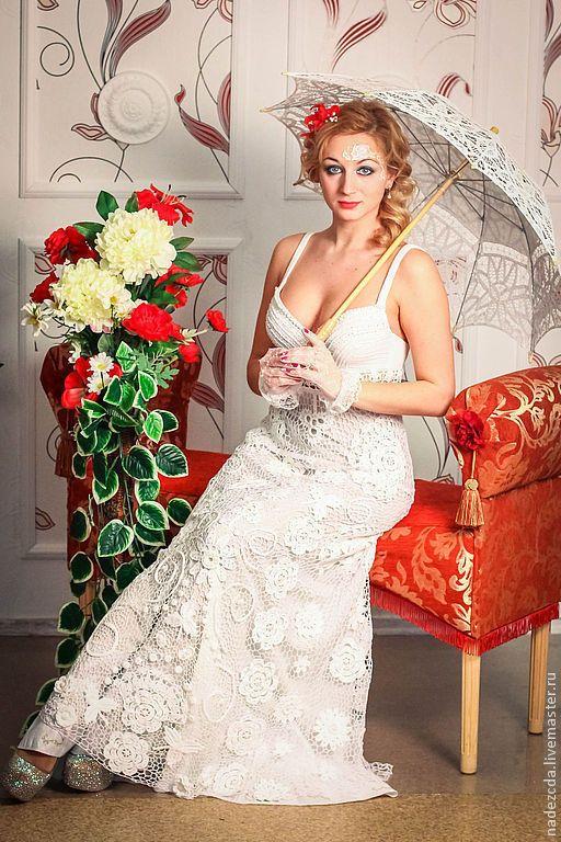Вечернее платье снежная королева