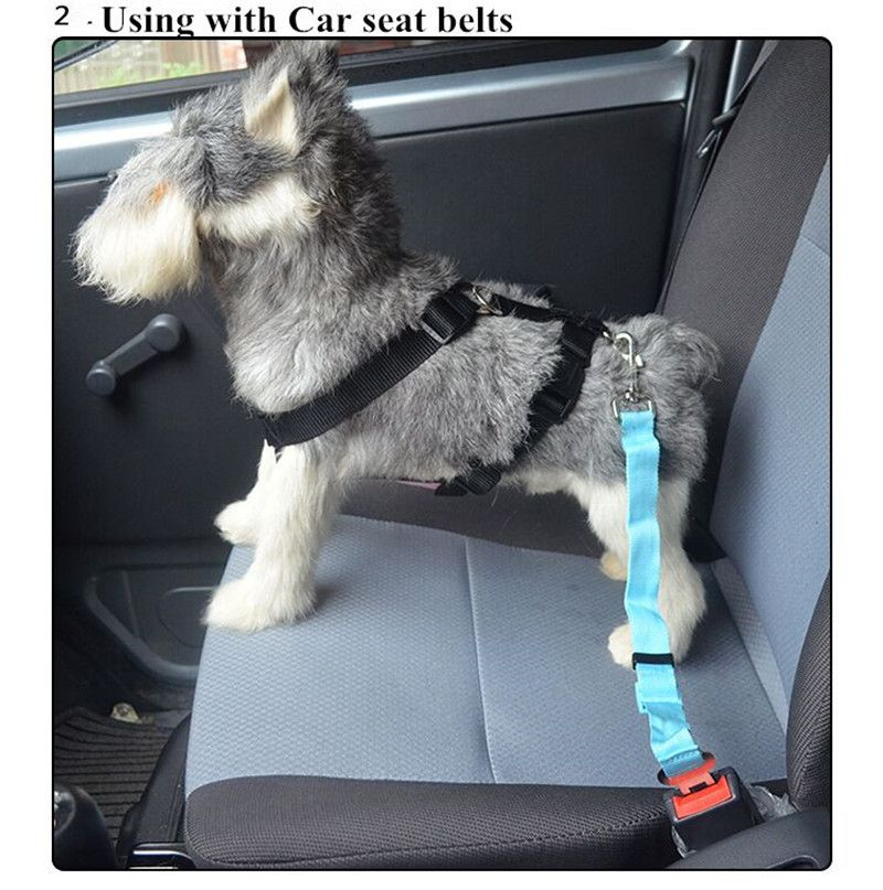 E34 Pet Doh Harness Dog Chest Strap With Car Seat Belt Chest Strap