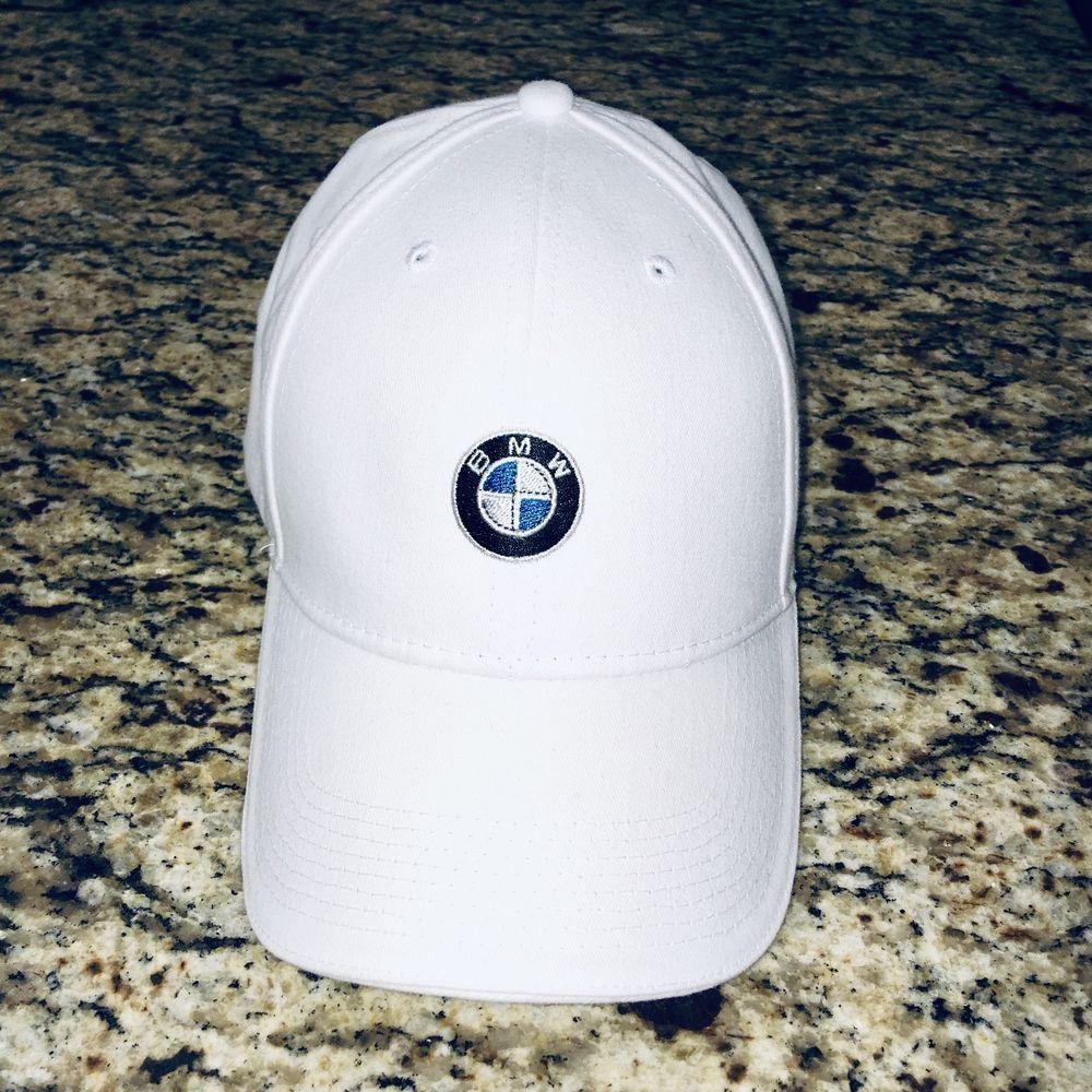 BMW contrast stitch cap