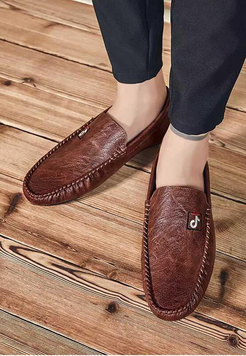 Boys New Faux Suede Slip On Comfy Smart Side Buckle Loafers Designer Formal Shoe