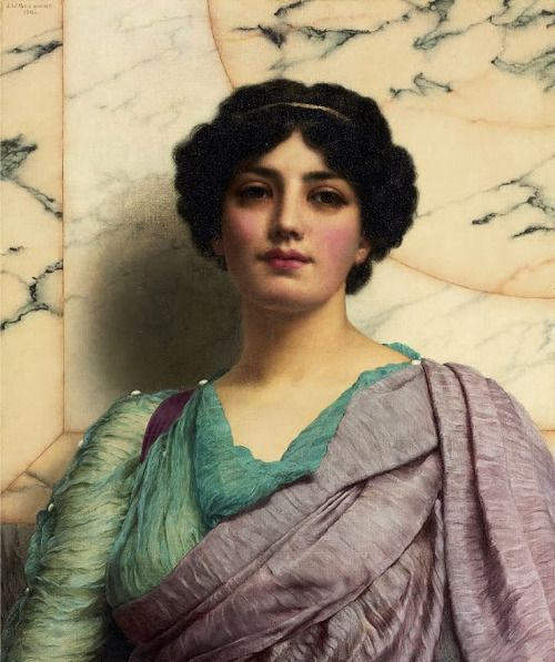 A Roman Beauty, John William Godward