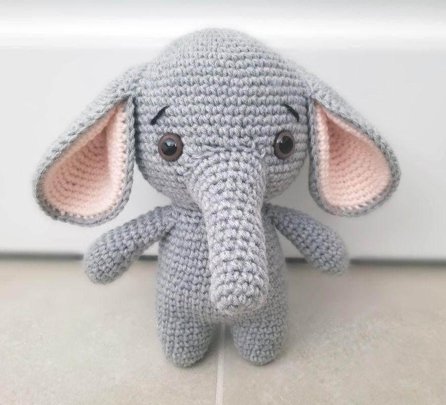 Red Heart Baby's Elephant | Yarnspirations | 800x882
