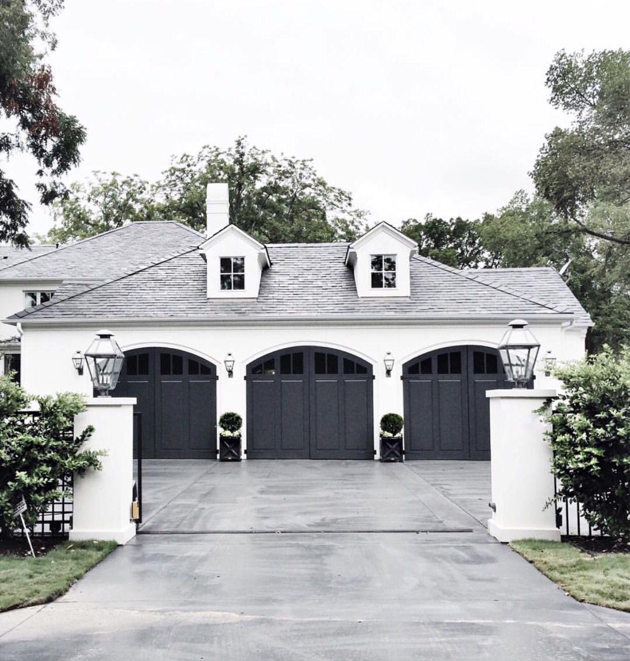 Perfect Garage Garage Door Design House Exterior House Styles