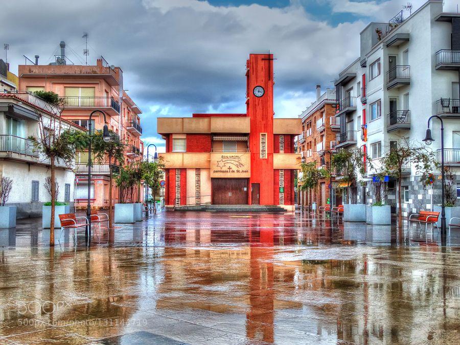 Plaça de l'Església. by tonigen #Architecture #fadighanemmd