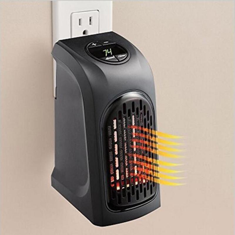 Mini Elektrische Handy Plug-In Ventilator Kachel Draagbare ...