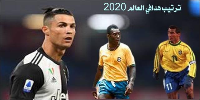 ترتيب هدافي العالم 2020 World Ranking