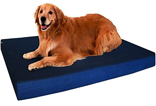 Dogbed4less Xl Orthopedic Memory Foam Dog Bed With Washable