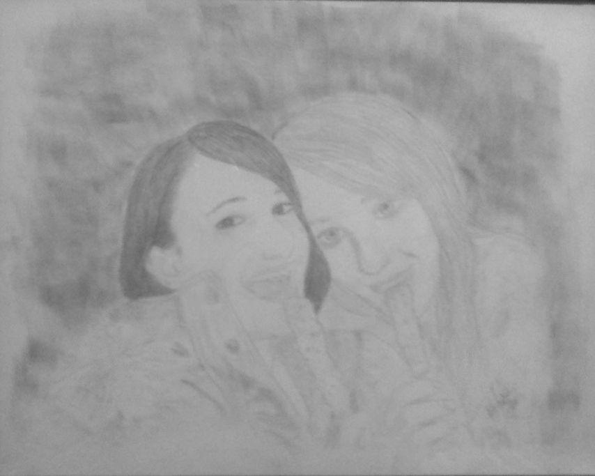 Nancy and Katie
