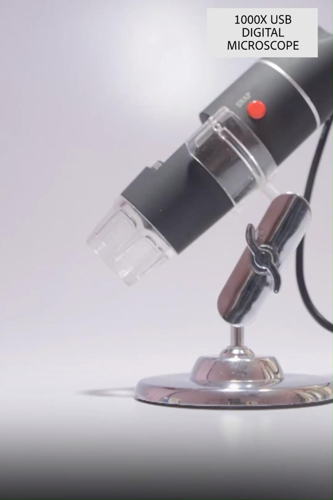 1000x Zoom 1080p Microscope Camera In 2020 Usb Microscope