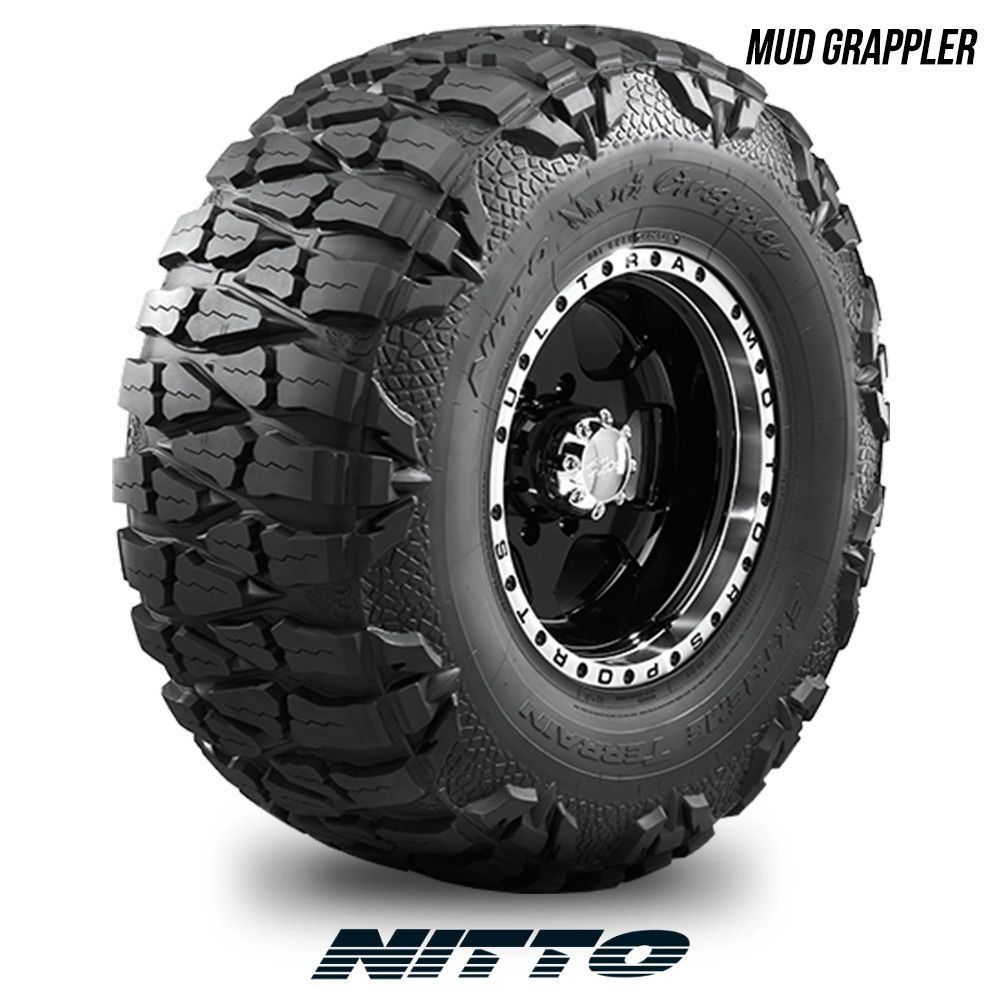 Cheap Mud Tires For Trucks >> Nitto Mud Grappler LT 315/75R16 124P BW 315 75 16 3157516 | Truck tyres, Truck rims, tires, Jeep suv