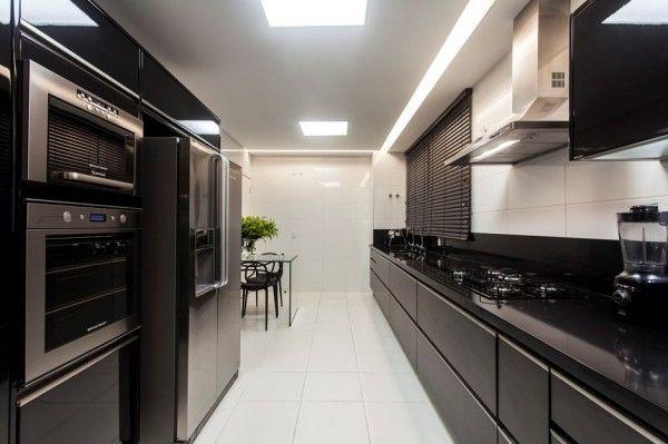 12 Cozinhas Decoradas De Preto E Branco Veja Modelos Lindos E