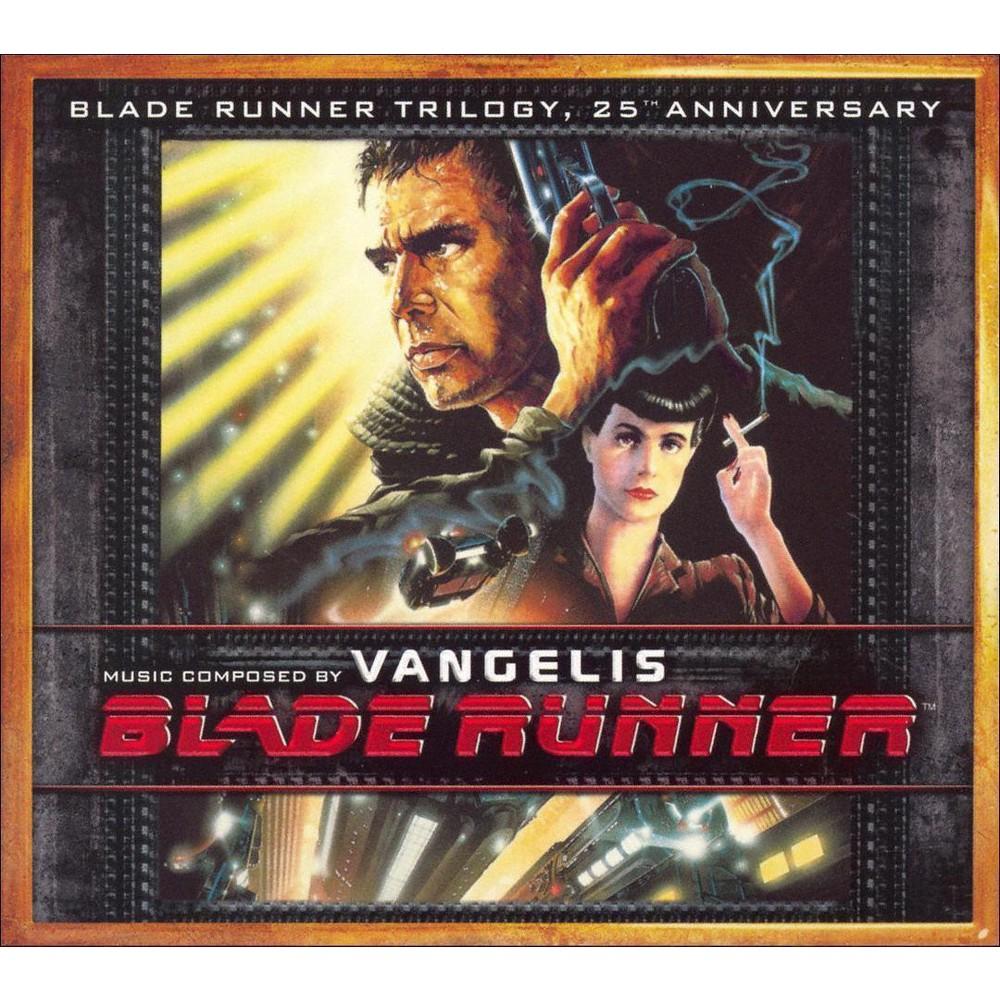 Soundtrack Blade Runner Trilogy Vangelis 3cd 25th Anniversary Edition Blade Runner Vangelis Blade Runner Blade Runner Soundtrack