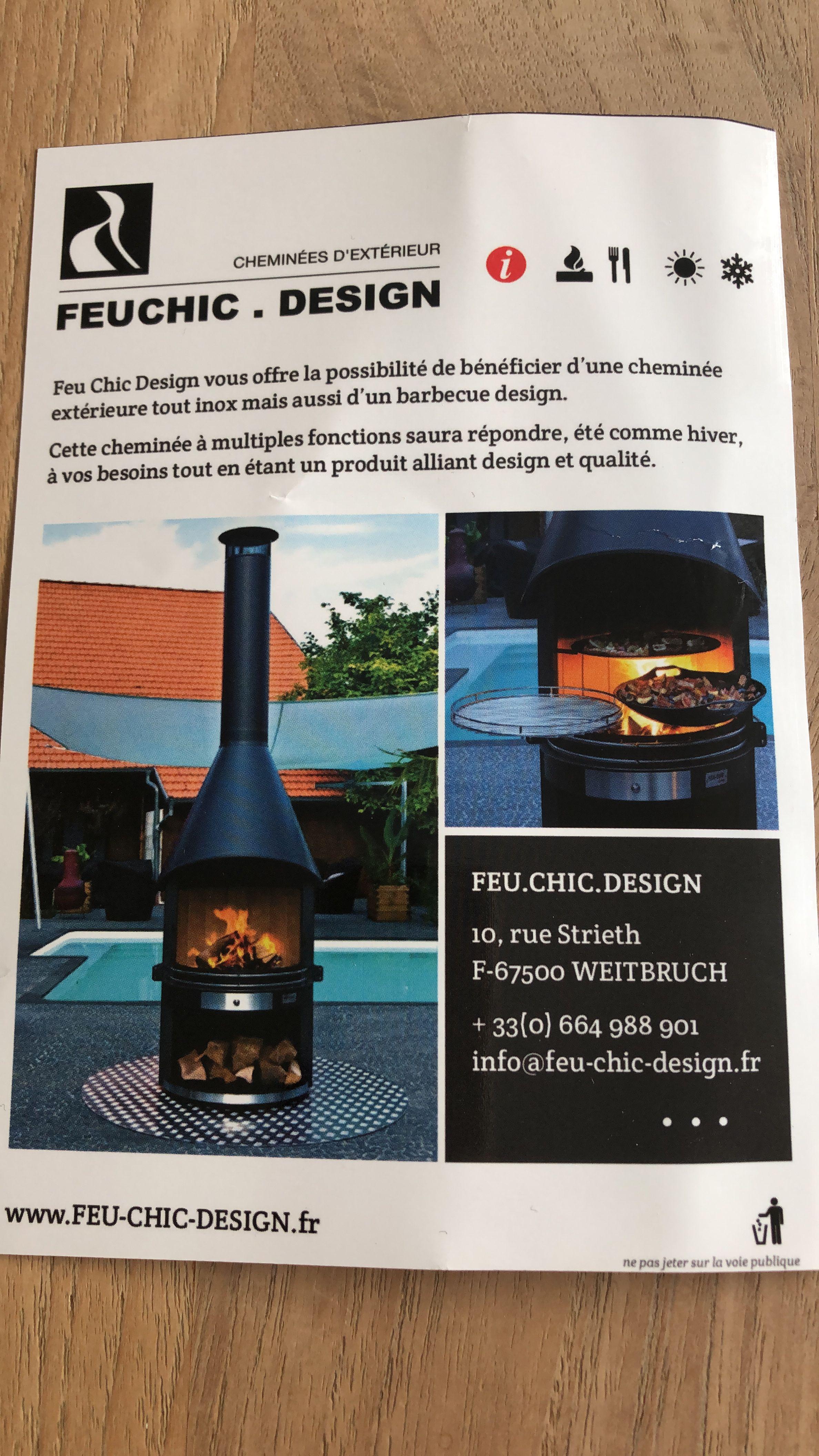 Prix Cheminee Exterieur Feu Chic Design Épinglé par carine coquio sur terrasse   terrasse