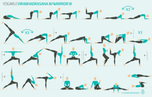 virabhadrasana iii  warrior iii with images  yoga