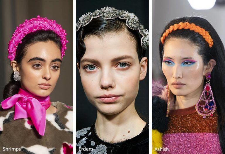 Fall/ Winter 2020 2021 Hair Accessory Trends in 2020 | High