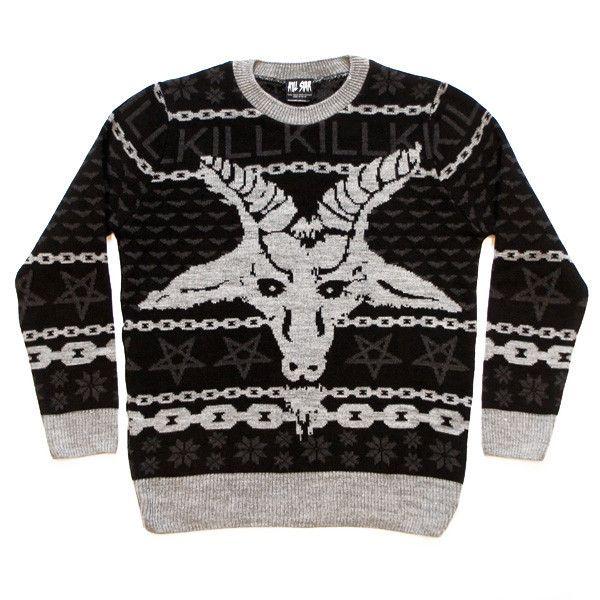 Hexmas Knit Sweatshirt -- Evil Xmas sweater | My Style | Pinterest ...