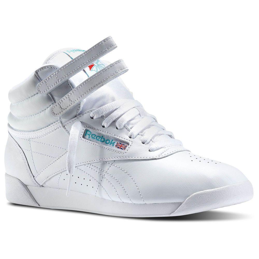 3b631ee884576 Reebok Freestyle Hi White